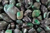 Tumbled Emerald Gemstone