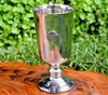 Woven Pentacle Pewter Chalice