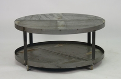 Gregory Coffee Table on Wheels