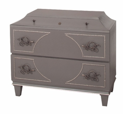 2 DRAWER CHEST SNAKE ACCENT p84
