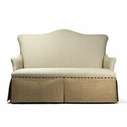3 Seater Skirted Sofa