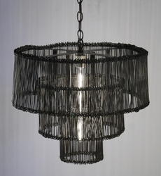 3 Tiers Metal Hanging Light