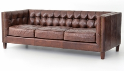 "Abbott Sofa -  85"" Sofa (Cigar Color)"