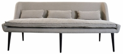 Achille Dining Sofa (Oxford Brown)