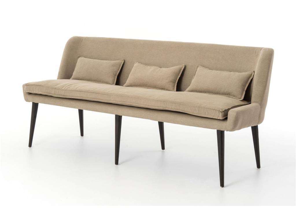 Achille Dining Sofa Oxford Brown
