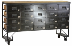 Achille Metal Sideboard