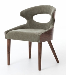Adele Dining Chair - one pair (Green)