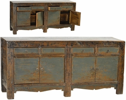 Adone Blue-Grey Sideboard