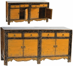 Adriano Yellow Sideboard