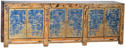 Alberico Antique Blue Sideboard
