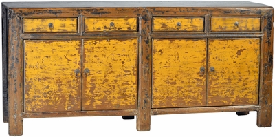 Alessandro Antique Yellow Sideboard