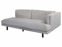 Alphonse Left Sofa Section  (Eggshell)