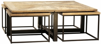 Amadeo Coffee Table (side tables nested inside)