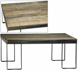 Amato Coffee Table (Metal Legs
