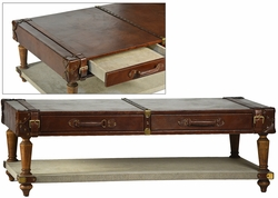 Anacleto Suitcase Style Coffee Table
