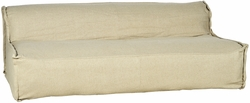 Ansell Sofa - Cream Covered