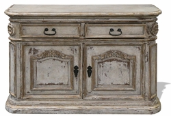 Antiqued New Orleans Sideboard