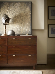 Aqustsen Dresser (English Walnut)
