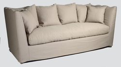 Aragon Hemp Waved Back Sofa