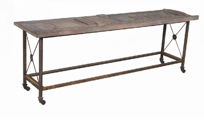 Architectural Door Sofa Table