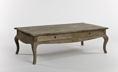 Arles Coffee Table with 4 Drawers (2 Drawers on each side)