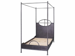 Arsenio Iron Bed - Twin (Black Waxed)