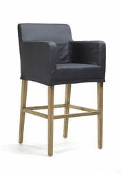 Avignon Slipcover Bar Stool (one pair)