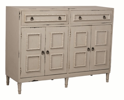 Bamboo Accent Credenza