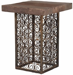 Banister Rail Side Table