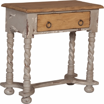 Barley Twist Side Table - one pair