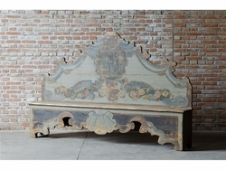 Benigno Hand Painted Bench