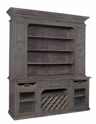Berkshire Cabinet with Wine Rack