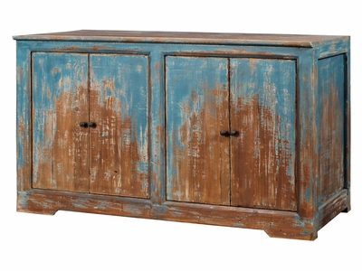 Biaggio 4 Door Sideboard (Blue)