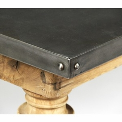 Borges-Zinc Top Table
