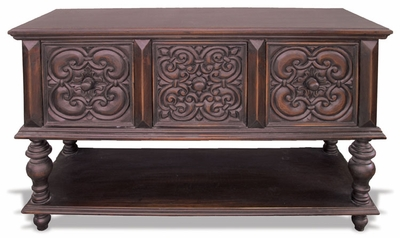 Buffet Cape  Cod Hand  Carved