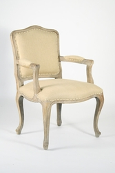 Cannes Arm Chair (Hemp-Limed Grey Oak)