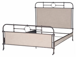 Capucine Metal King Bed