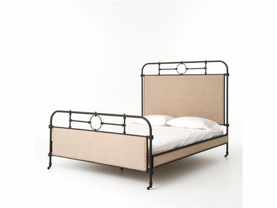 Capucine Metal Queen Bed