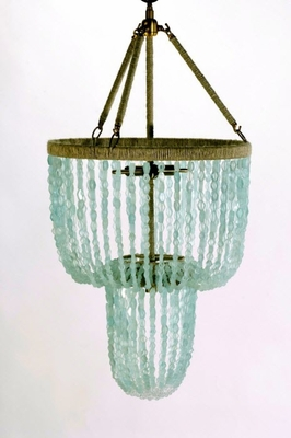Carmen Hanging Beaded Chandelier