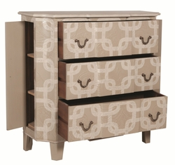 Cartouche Pattern Chest