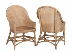 Catskill Side Chair with Wooden Seat