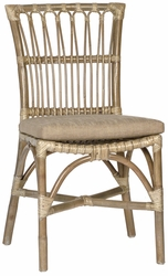 Celestin Rattan Chair - one pair