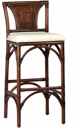 Cesaire Bamboo Bar Stool - one pair