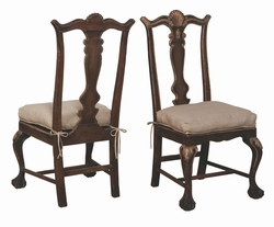 Chipendale Dining Chair - one pair