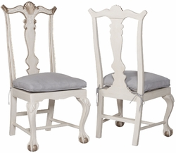 Chippendale Chairs - one pair