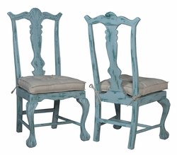 Chippendale Dining Chair - one pair