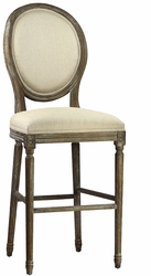 Colombina Bar Stool (Weathered Oak) - one pair