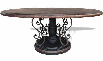 Compass Round Dining Table