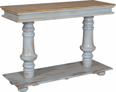 Console Pedestal Table