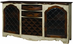 Credenza with Wine Storage